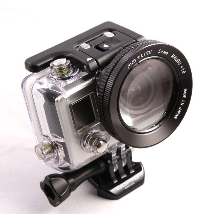 Go-Pro close up lens. 55 mm Marumi Macro +10