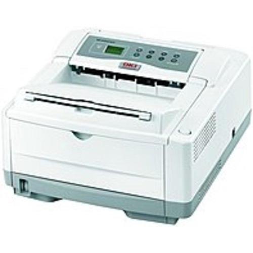 A Oki B4600N LED Printer - Monochrome - 600 x 2400 dpi Print - Plain Paper Print - Desktop - 27 ppm Mono Print - A4, A5, A6, Letter, Legal, Executive, B5, C5 Envelope, DL Envelope, Com 9 Envelope,