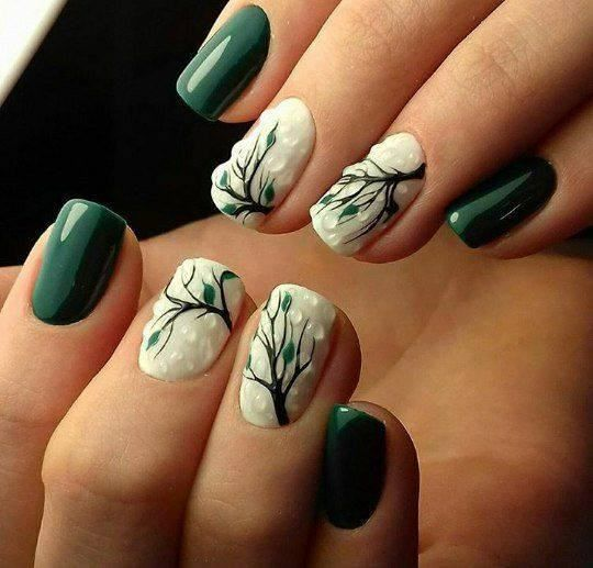 Toe Nails For Fall 2017: Best 20+ Fall Nail Art Ideas On Pinterest