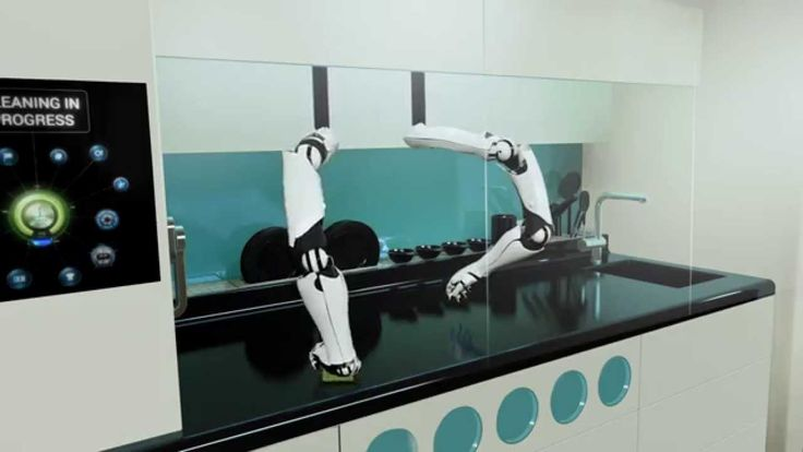 The world's first robotic kitchen - by Moley Robotics