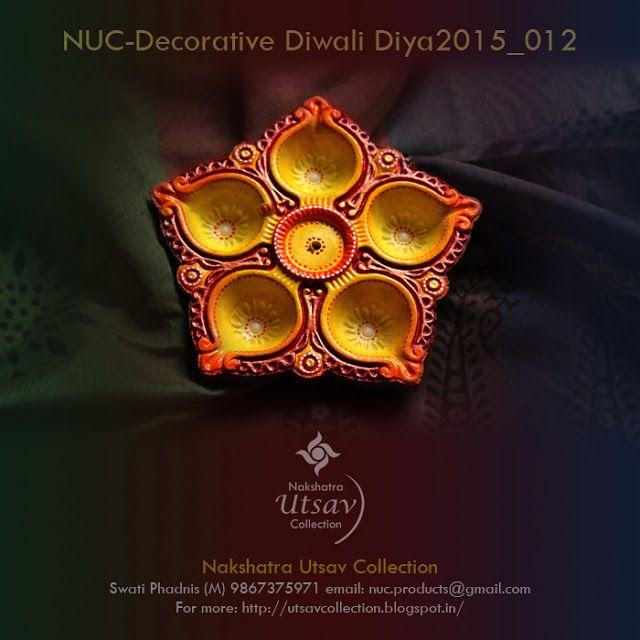 Nakshatra Utsav Collection: NUC-Decorative Diwali Diya2015_012