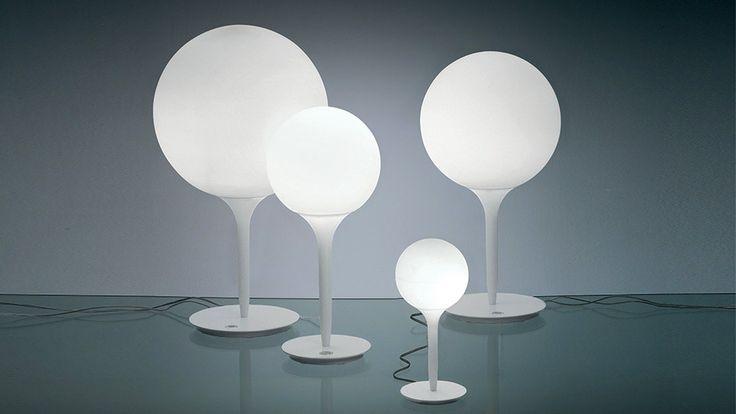 Michele De Lucchi's feeling for design: Castore lamp, Artemide, 2004 @micheledelucchi #designbest
