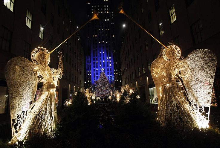 #excll #дизайнинтерьера #решения Праздничные огни в Нью Йорке | Excellence решения