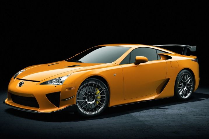 Yes in yellow... so gorgeous and very powerful. Lexus' first attempt on a super car and its a success so far. Lexus LFA