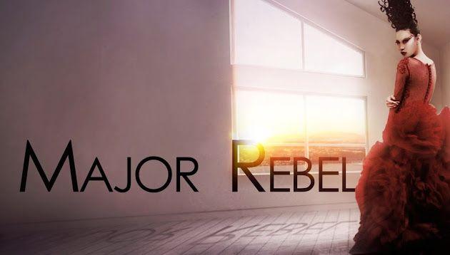 MAJOR REBEL - Colorize - RED Sunrise