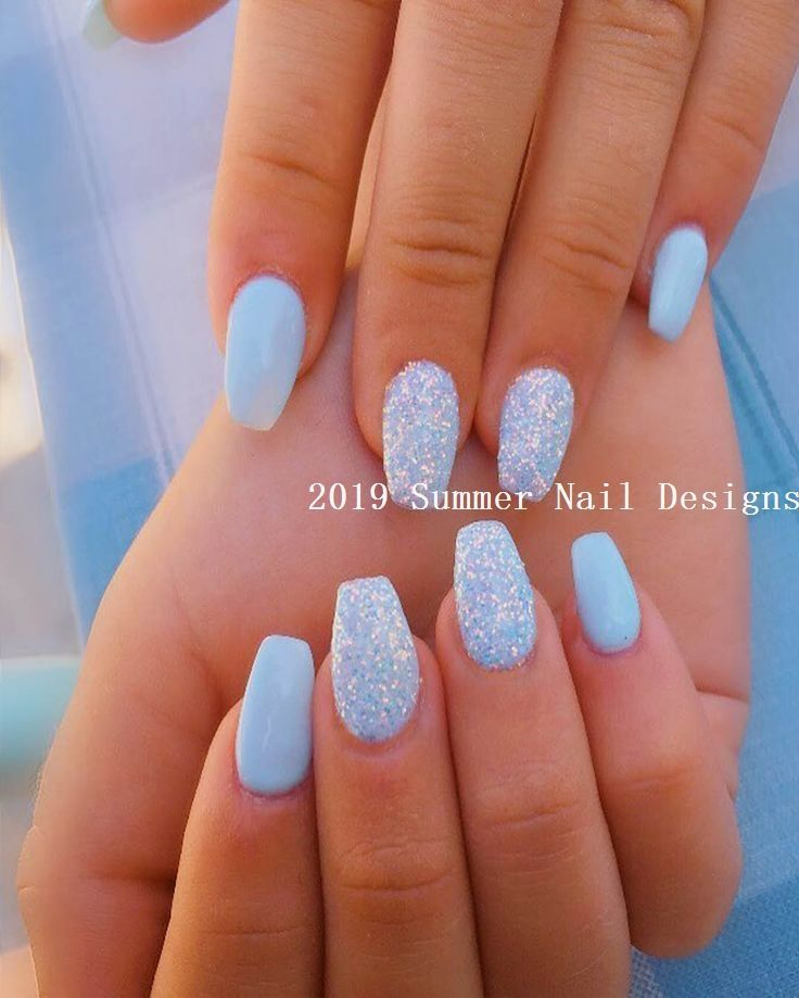 33 Cute Summer Nail Design Ideas 2019 Summernails 2019nails Sommernagel Nagellack Nagelideen