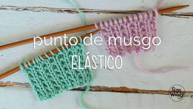 Un punto apto para principiantes, ideal para bufandas y cuellos porque no se dobla ni se enrosca (queda plano), muy fácil (se teje en sólo dos vueltas) y est...