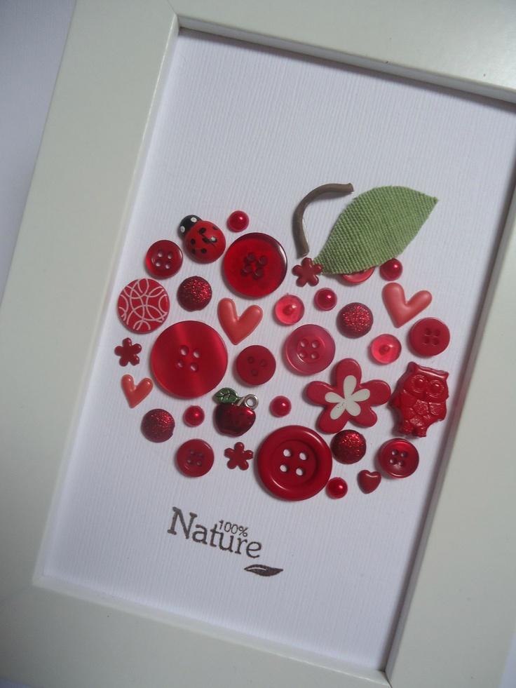 Détails cadre pomme pour Cat A Strophes - par Catherine G