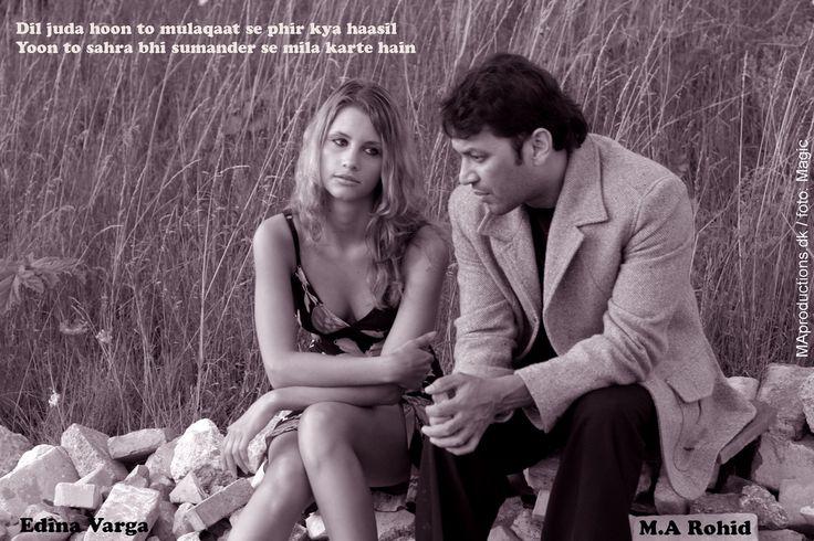 Rohid Ali Khan and Edina Varga at the side of love path