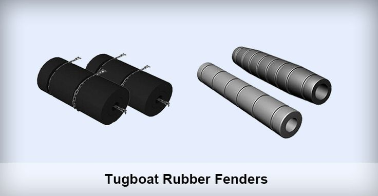 Tugboat Rubber Fenders Application Tugboat rubber fender is typically mounted on the bow, stern, and both sides of a towboat or push boat. It can effectively counterpart the impact force between ship and dock and that between ships. It is ideal for preventing boats as well as dock from being damaged by the impact force.