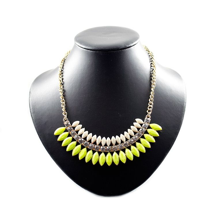 """Statement ketting """"Tropical Lime"""" • Lana's Sieraden"""