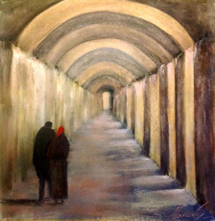 #opera dedicata ai #portici di #bologna in #prospettiva