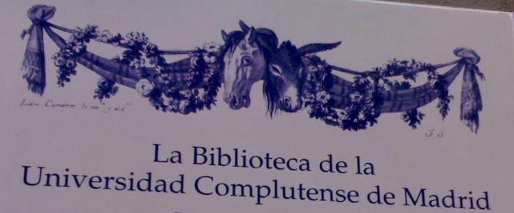 Biblioteca de la Universidad Complutense de Madrid.