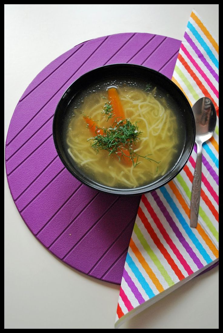 Rosół - Traditional Polish soup