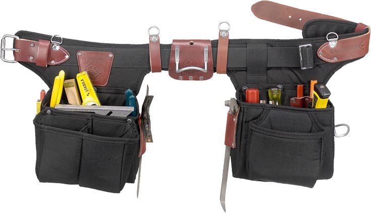 The Occidental Leather 9540 Adjust-To-Fit Finisher Tool Belt is just a hair's-breadth under 4 pounds unloaded! Compact bag design is ideal for trim, light framing and finish work. Innovative, round-bottom, full capacity, two-ply foam core main and outer bags hold their shape empty or loaded and it's adjustable! Adjusts from Small to XL in seconds!