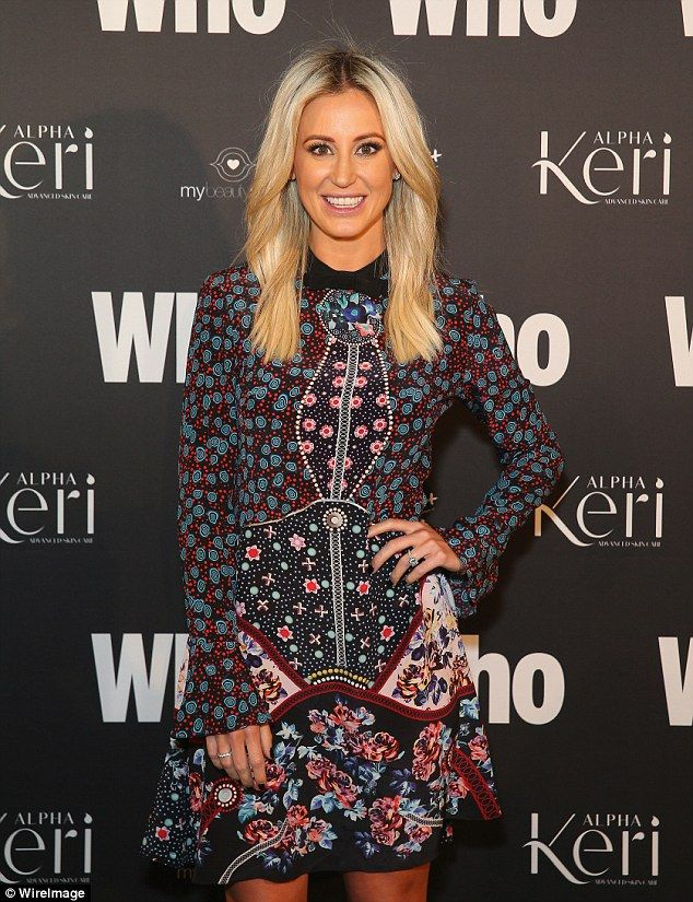 Reports: Roxy Jacenko was rumoured to 'briskly leave' Who magazine's Sexiest People 2016 event on Wednesday upon discovering she 'didn't make the list'