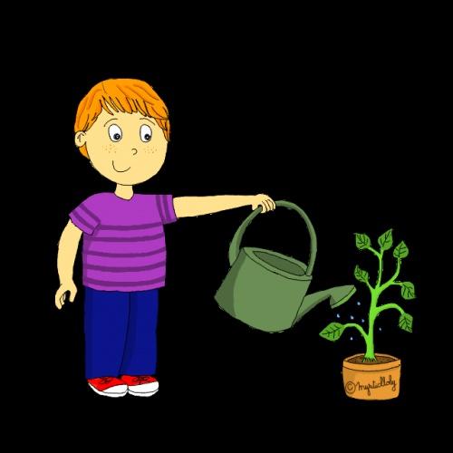 Le responsable des plantes