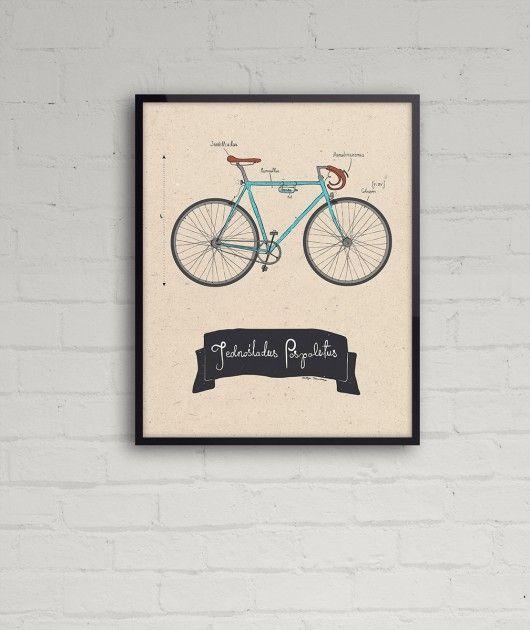 Rower - (40x50 cm)