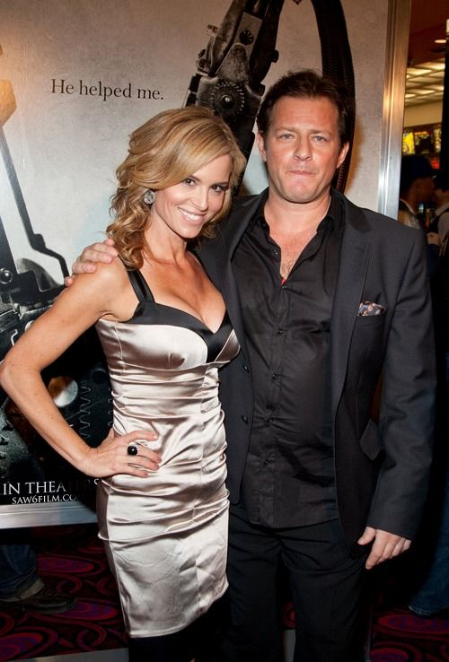 Betsy Russell and Costas Mandylor