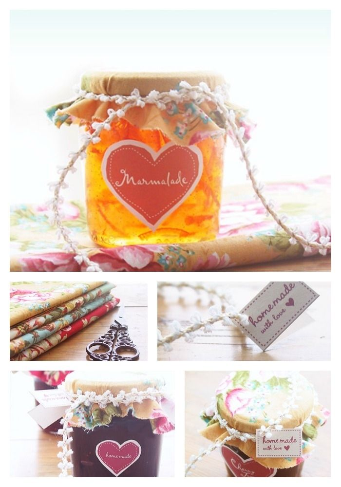 Awesome Gifts For Mom Part - 44: 16. Decorate That Jam Jar. Diy Gifts For MomDecor ...