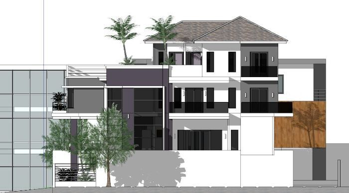 That Luxurious Seven Bedroom Modern Villa Cool House Concepts In 2020 Villa Design Modern House Plans Bedroom House Plans