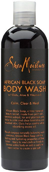 Shea Moisture African Black Soap Body Wash  ...love all SHea Moisture products ! you can find at walgreens, target, amazon..