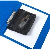 Rexel Advance Mesh Pencil Pouch Black Ref 2103779 113051 Bates Office