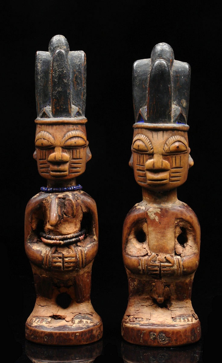 Africa   Pair of twin figures