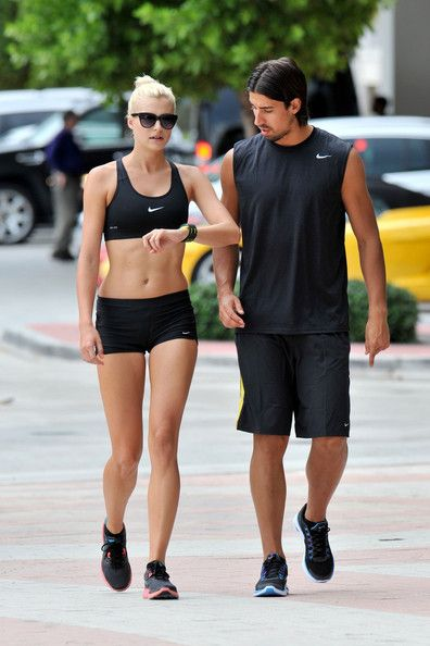 Lena Gercke Photo - Sami Khedira and Lena Gercke Work Out Together