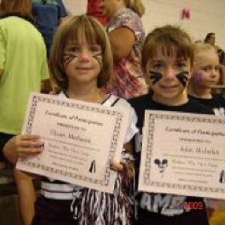 Sloan & Julie @ Cheerleading Camp!