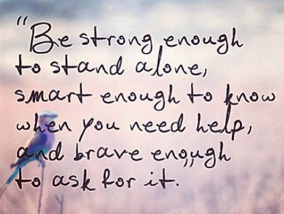 Be strong enough | Quotes About Life