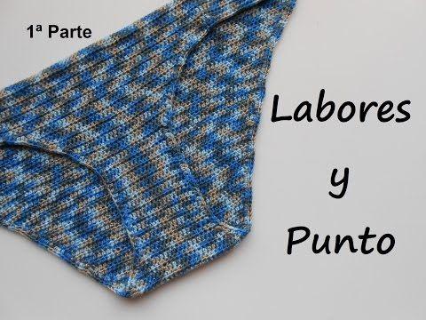 Cómo tejer un bikini crochet / Tutorial | Patrones para Crochet