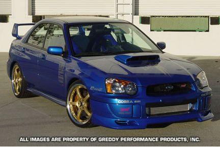 GReddy Subaru STI 2004-05 Front lip spoiler