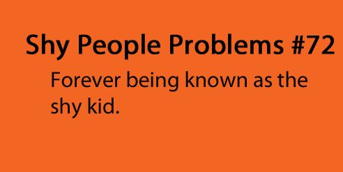 shy people problems | Tumblr | Shy People Problems ...