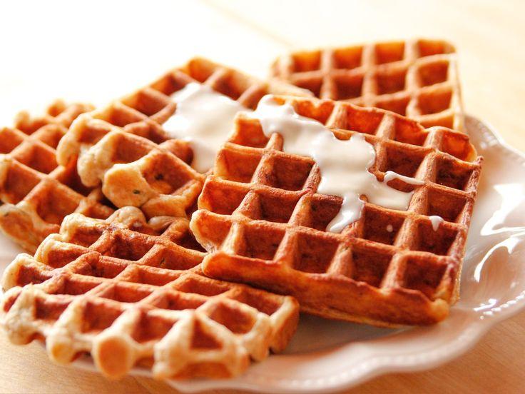 Zucchini Bread Waffles recipe from Ree Drummond via Food Network