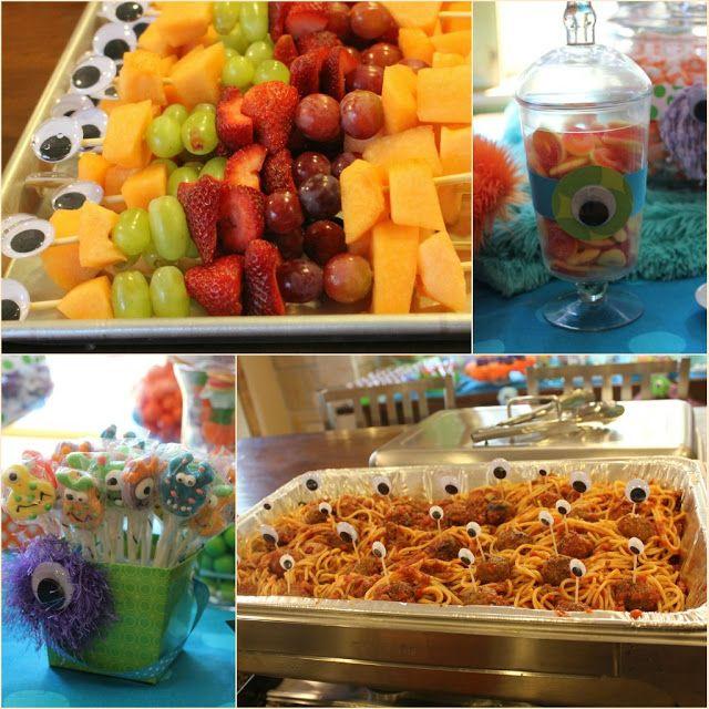 Kids Party Hub: Cute Little Monster Party Ideas