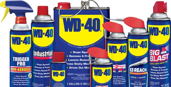 5 WD-40 Uses for the car interior and exterior WD-40 is one of those legendary products that have become indispensable to virtually every US household. According to the manufacturers, this lubricating spray has over 2000 uses – from keeping garden tools rust free to removing glue from hair. Did you know that WD-40 is also useful for auto detailing? Here are 5 WD-40 uses for your car – at $5 a can, you can afford to give it a try!