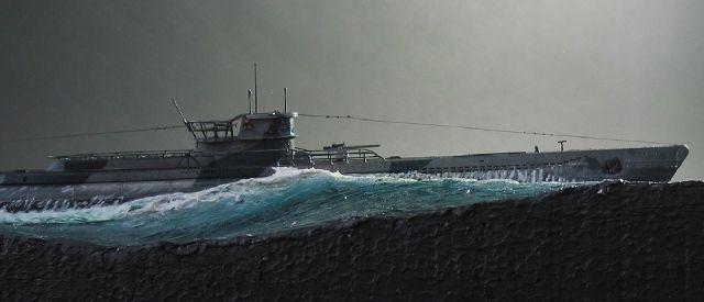 U-Boat Type VII / D - Modeling convincing water | Scale ...