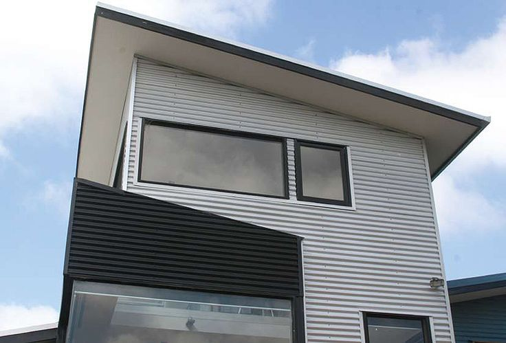 Architect, Greg Jones' home is clad in LYSAGHT CUSTOM ORB® in ZINCALUME® steel and COLORBOND® steel