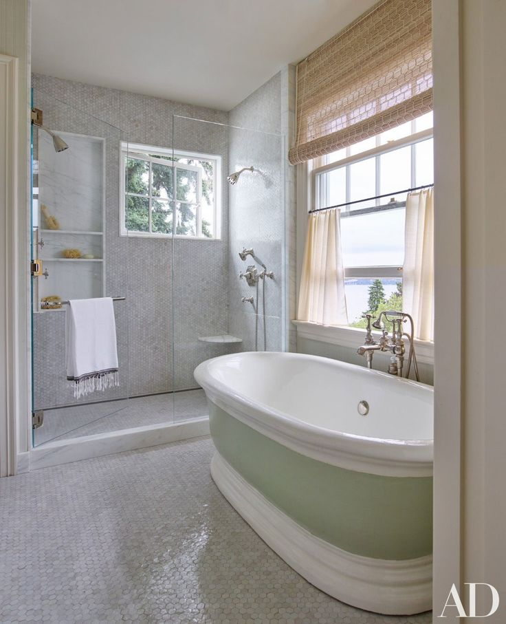 Jeffrey bilhuber gives this seattle home a stylish Architectural digest master bathrooms