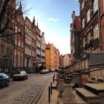 A street in Gdansk, Poland