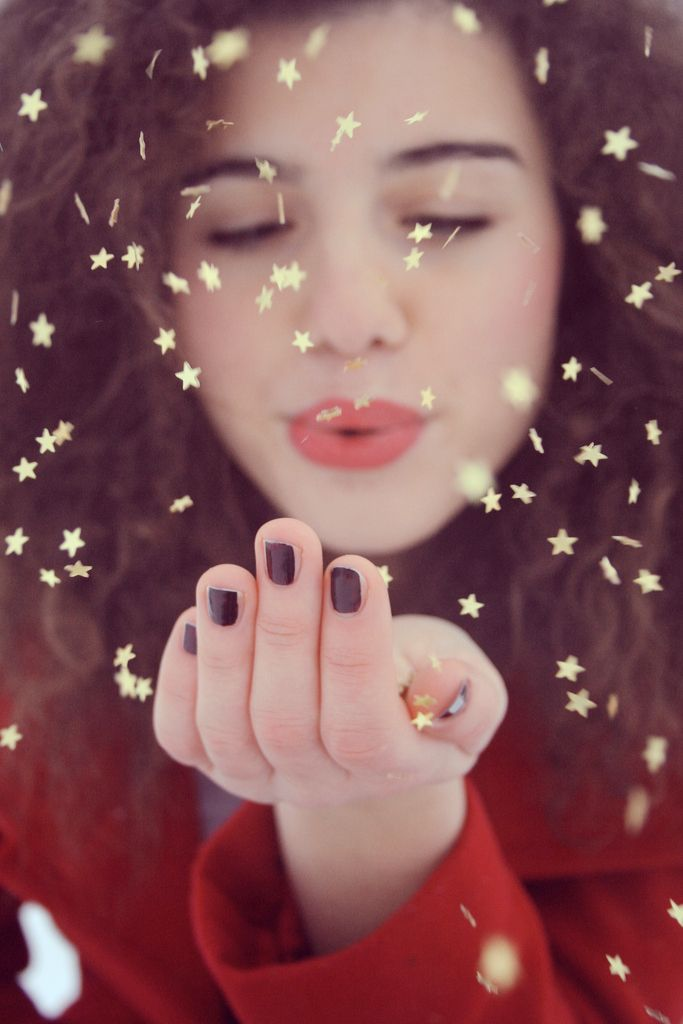 Star Glitter Kisses