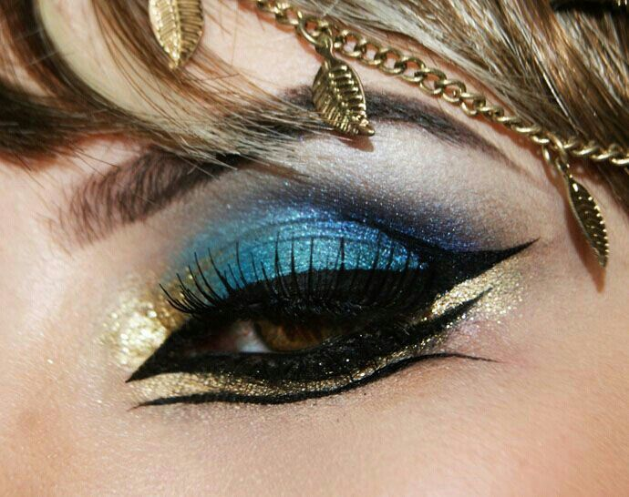 Katy Perry inspired make up for video Dark Horse! Egyptian make up!!