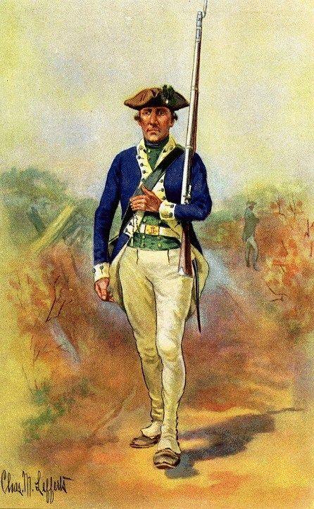 Second Massachusetts Continental Regiment of Infantry ...