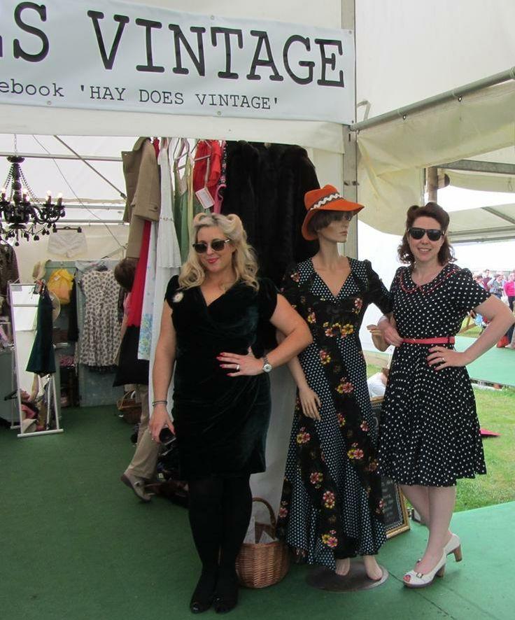 Rocking shades at Hay Festival, Hay-on-Wye