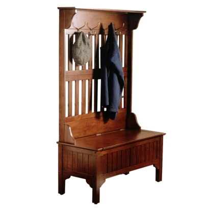 bench coat rack for entryway house styles pinterest coats trees and cherries. Black Bedroom Furniture Sets. Home Design Ideas