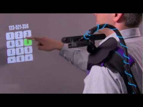 Wearable Multitouch Projector_ Geek video of the month