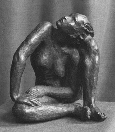 Georg Kolbe (1877 - 1947) - Hockende (1928)