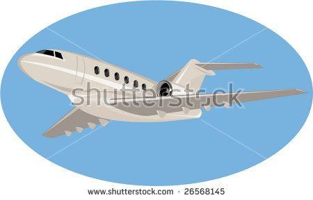 Light commercial plane #lightcommercialplane #airplane #retro #illustration