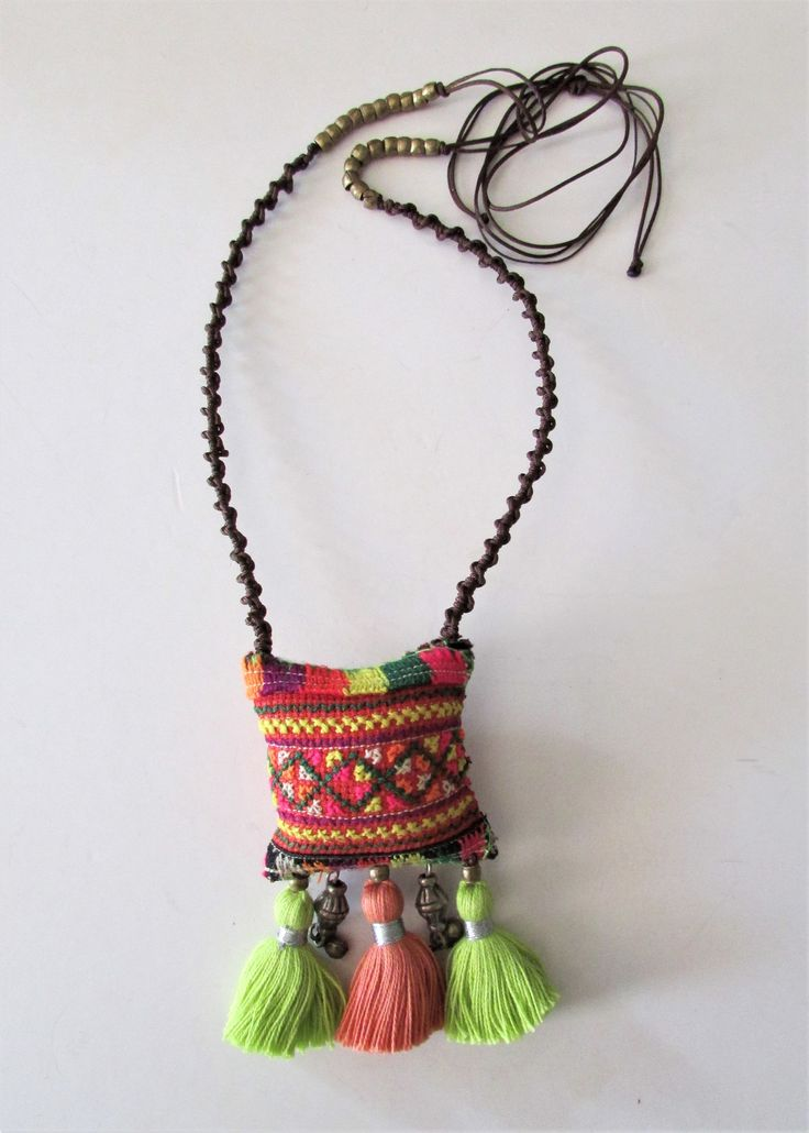 Coloful Ethnic Necklace